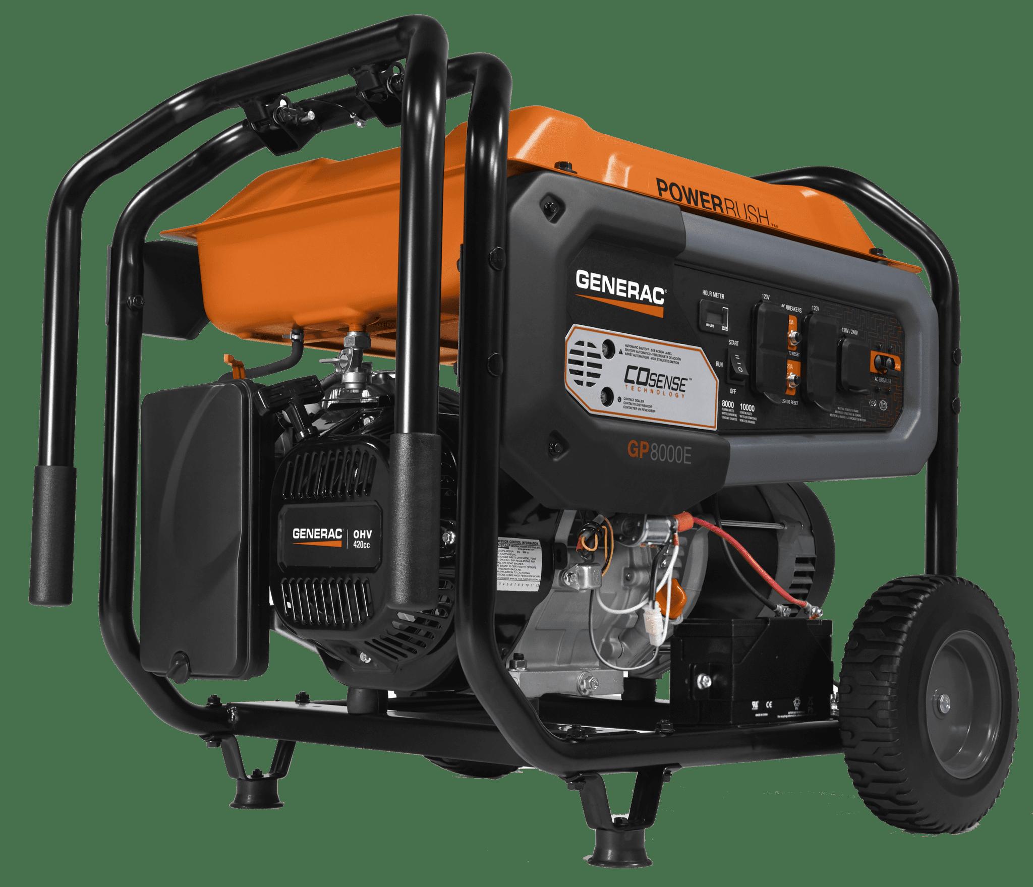 Generac GP 8000E Portable Generator