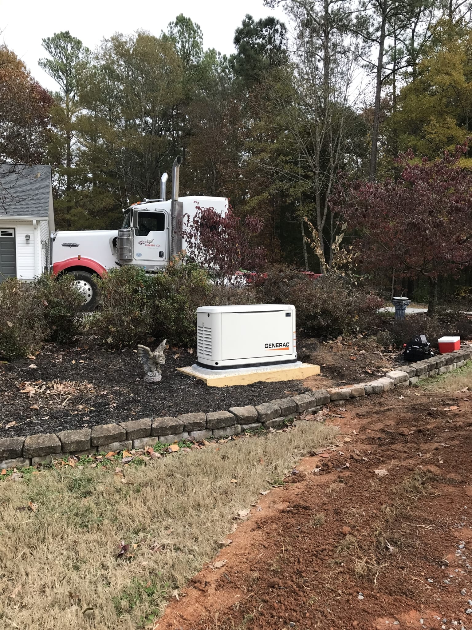 11.22.19 Lawrenceville Generac Automatic Standby Generator Far