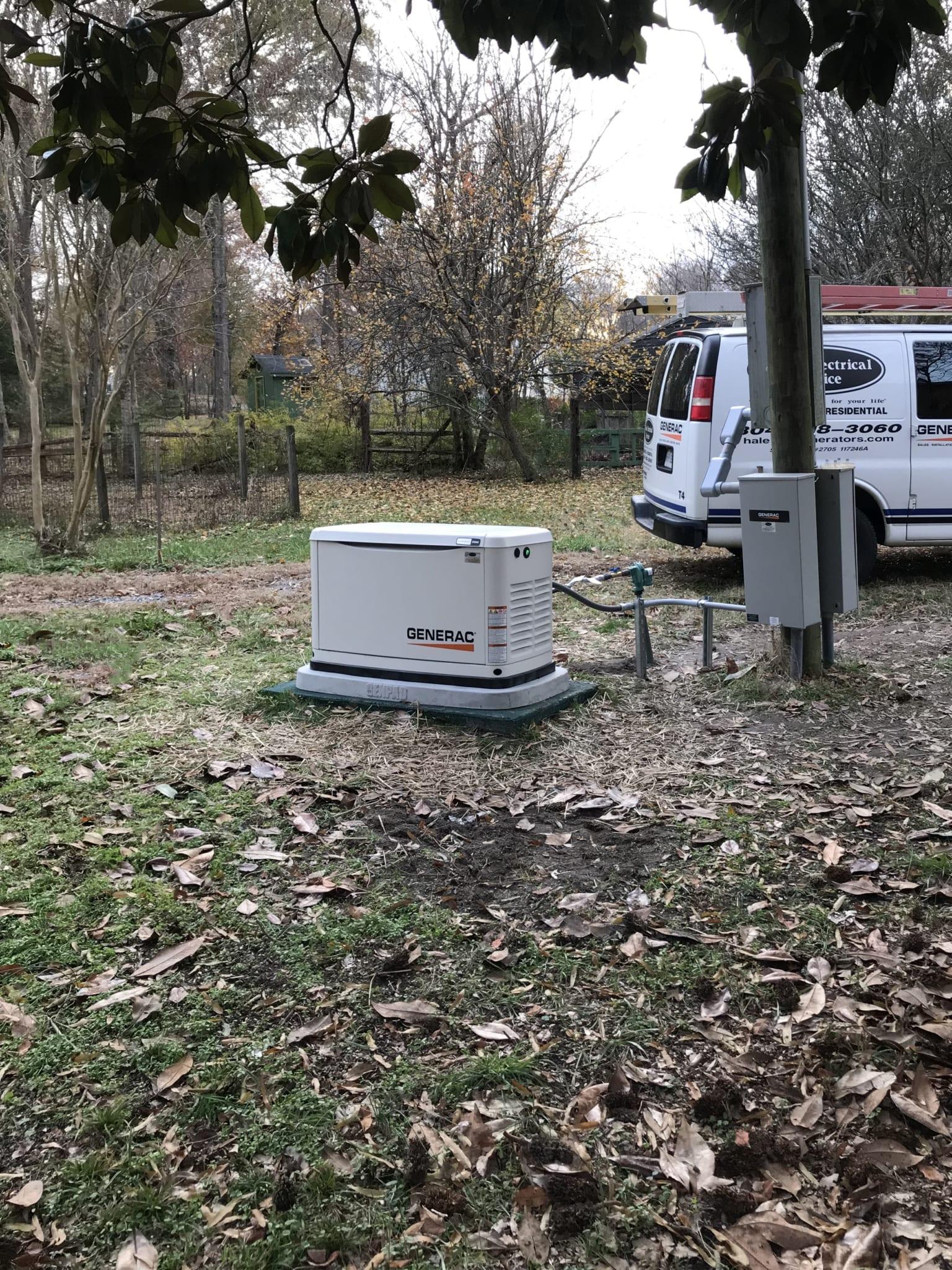 11.26.19 Nottoway Generac Automatic Standby Generator Far