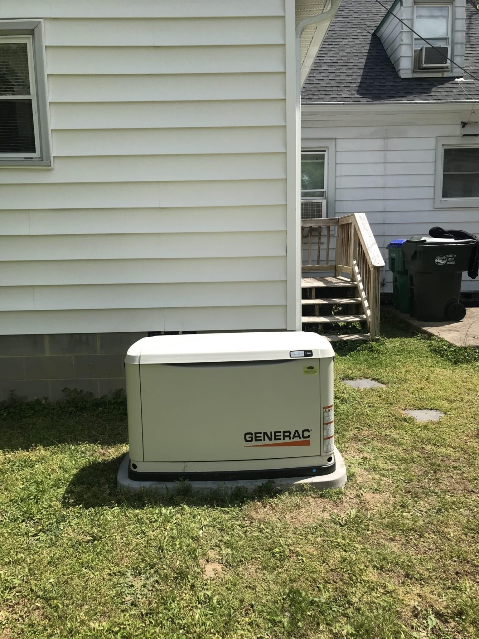 4.17.20 Richmond Generac Automatic Standby Generator
