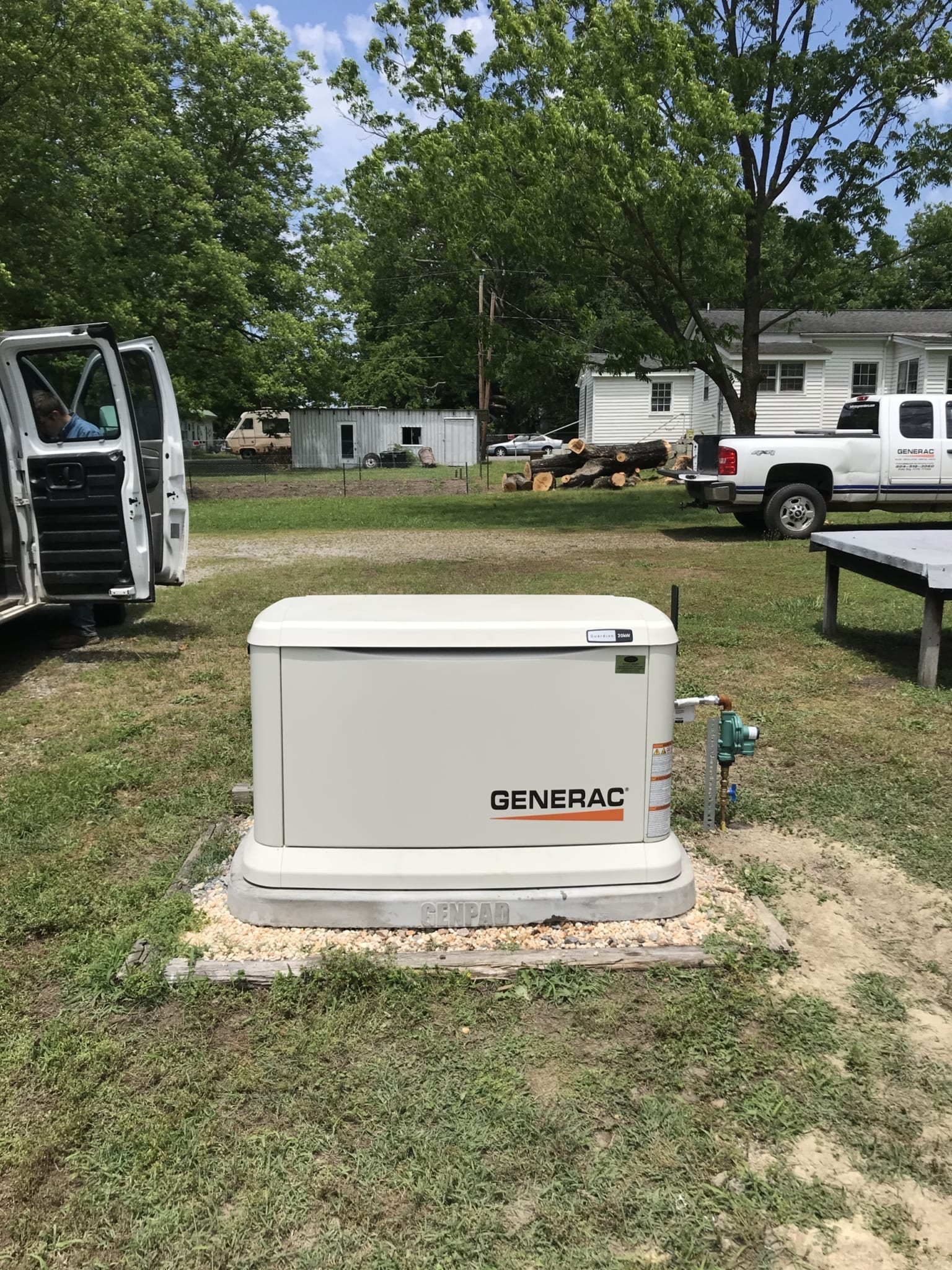 6.2.20 Dinwiddie Generac Automatic Standby Generator
