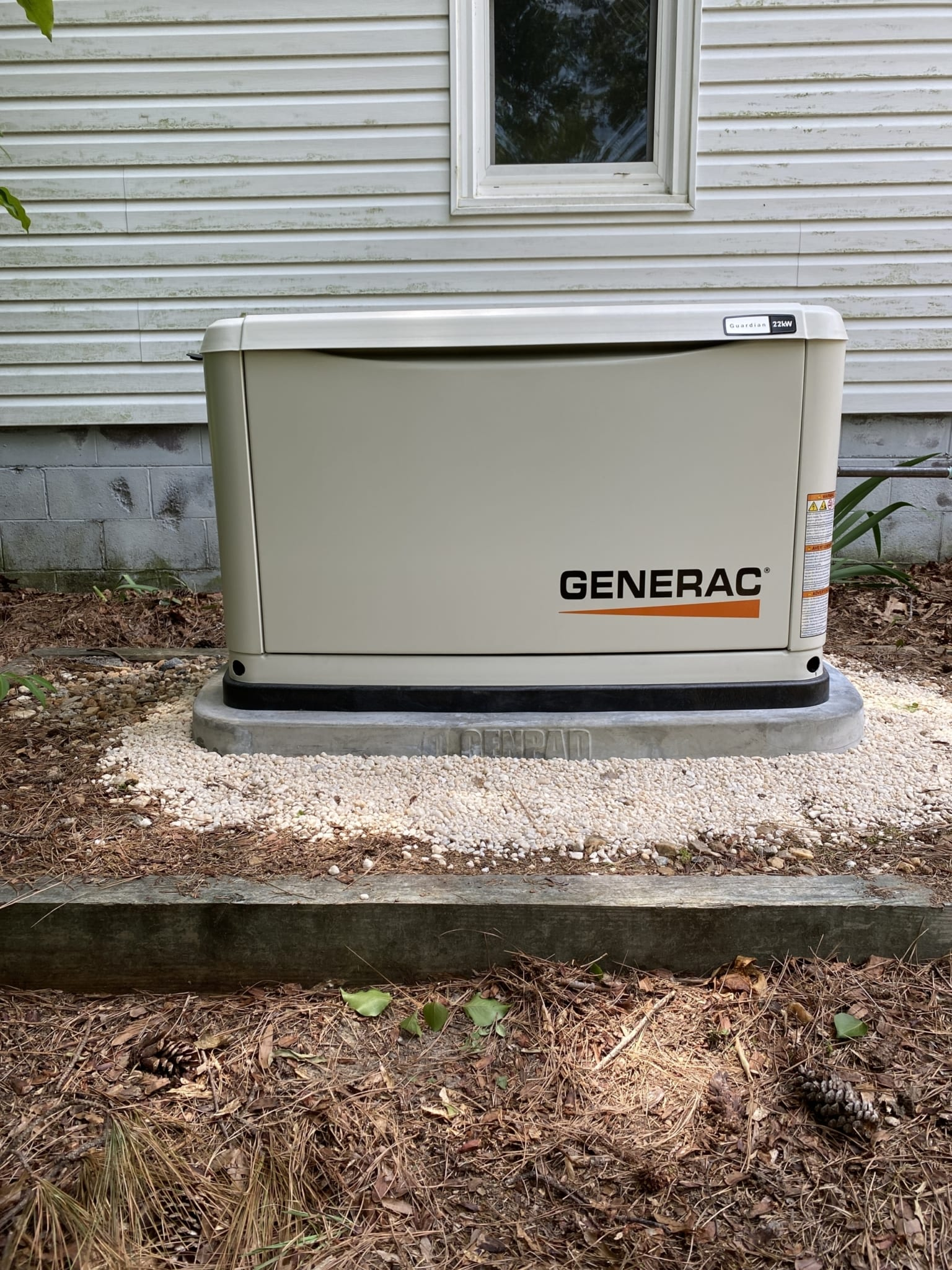 6.3.20 Dinwiddie Generac Automatic Standby Generator Replacement