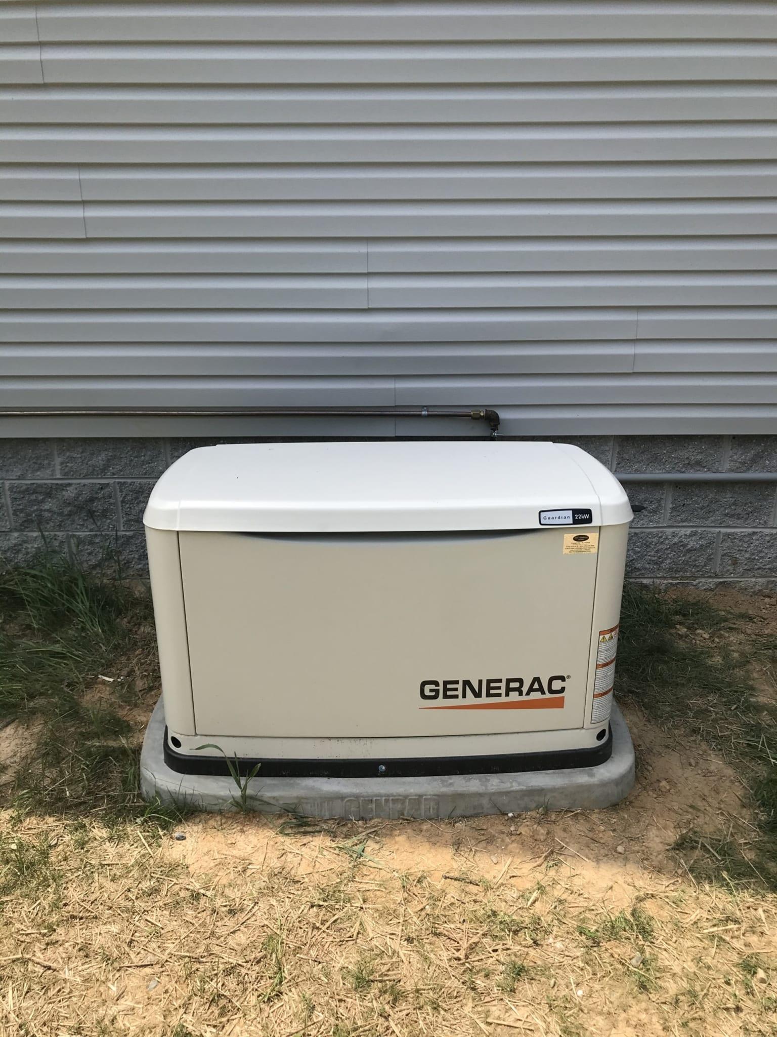 6.9.20 Nottoway Generac Automatic Standby Generator