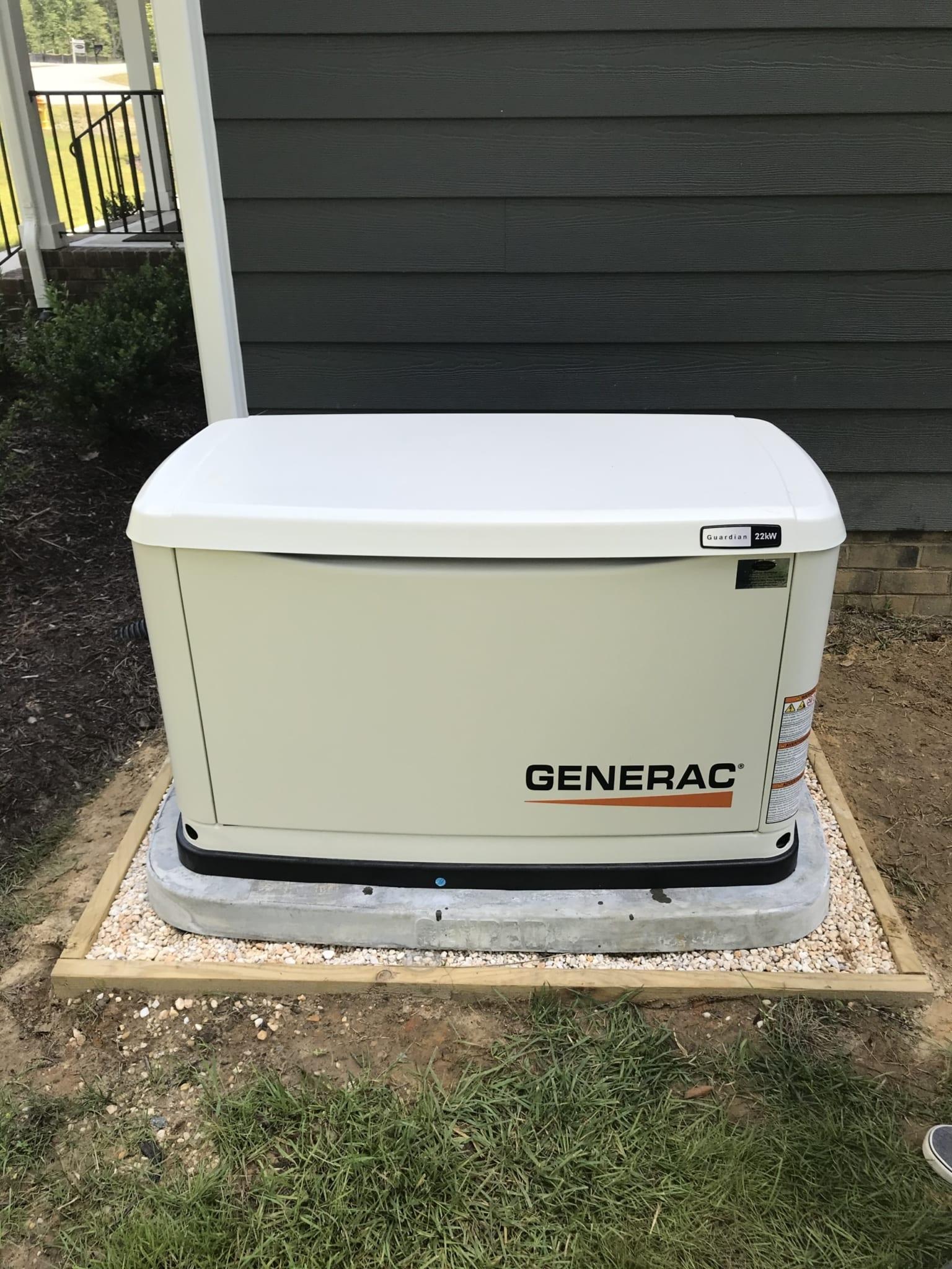 6.19.20 New Kent Generac Automatic Standby Generator