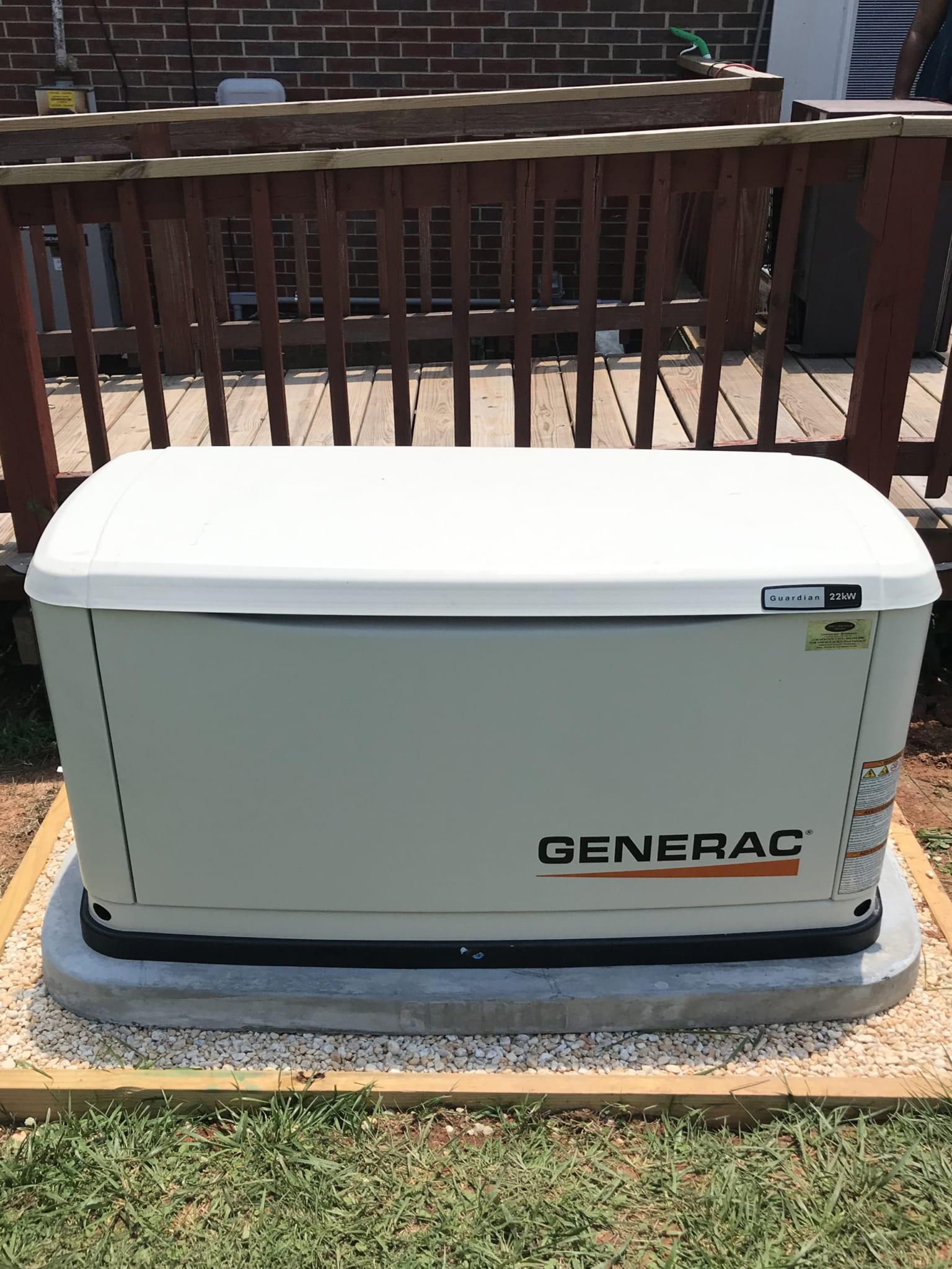 6.22.20 Mecklenburg Generac Automatic Standby Generator