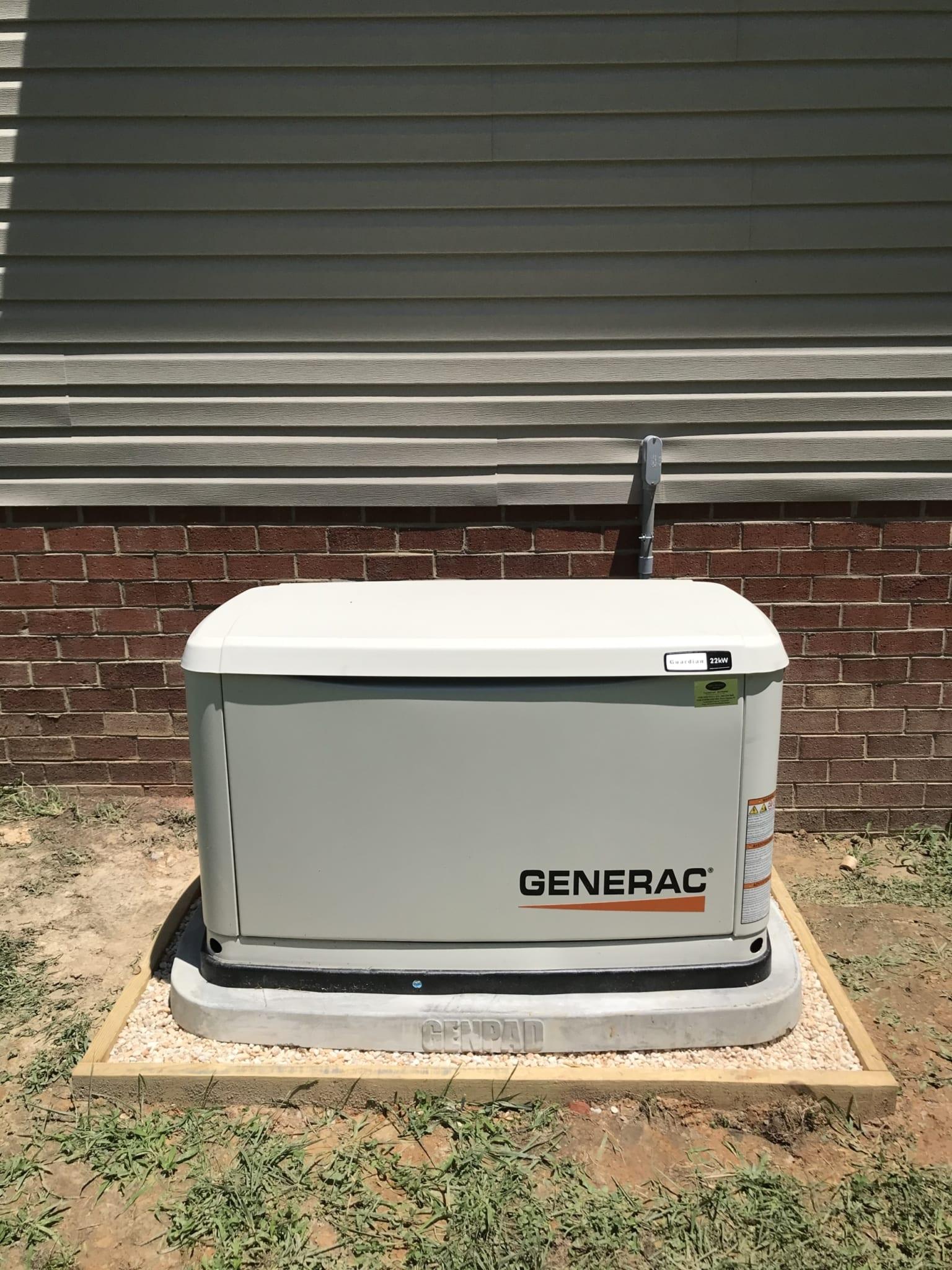 6.23.20 Chesterfield Generac Automatic Standby Generator