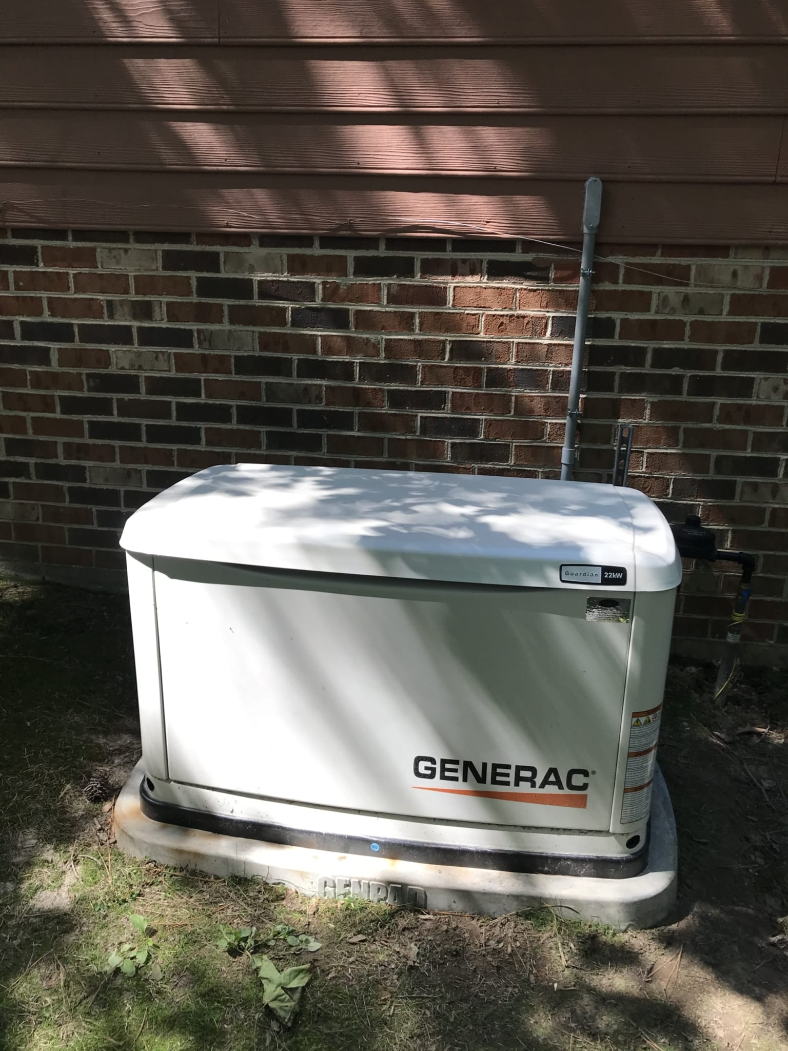 6.26.20 Generac Automatic Standby Generator