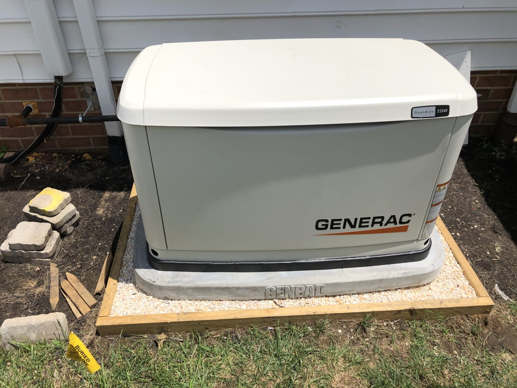 6.29.20 Colonial Heights Generac Automatic Standby Generator