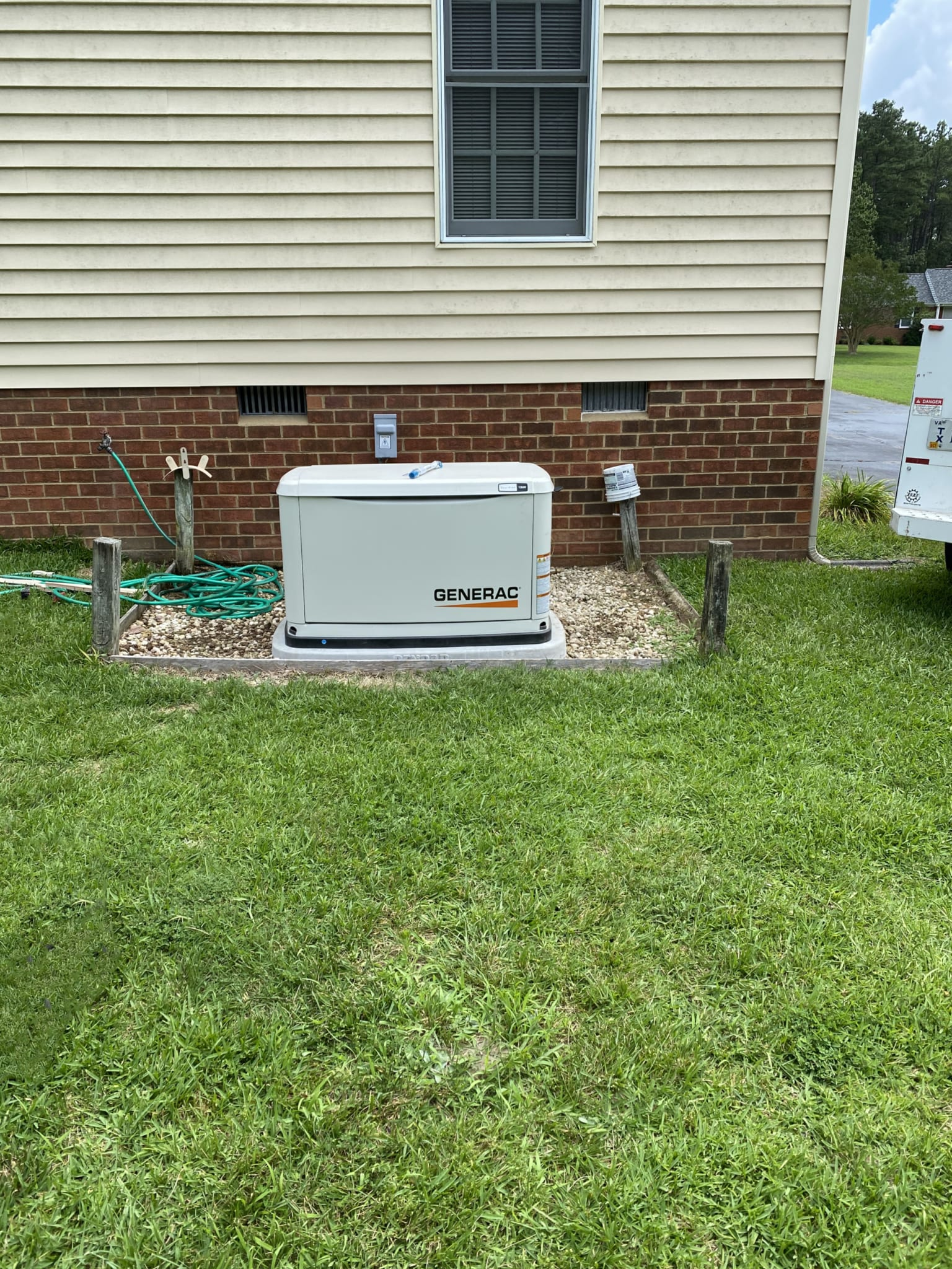7.8.20 Chesterfield 2 Generac Automatic Standby Generator Far