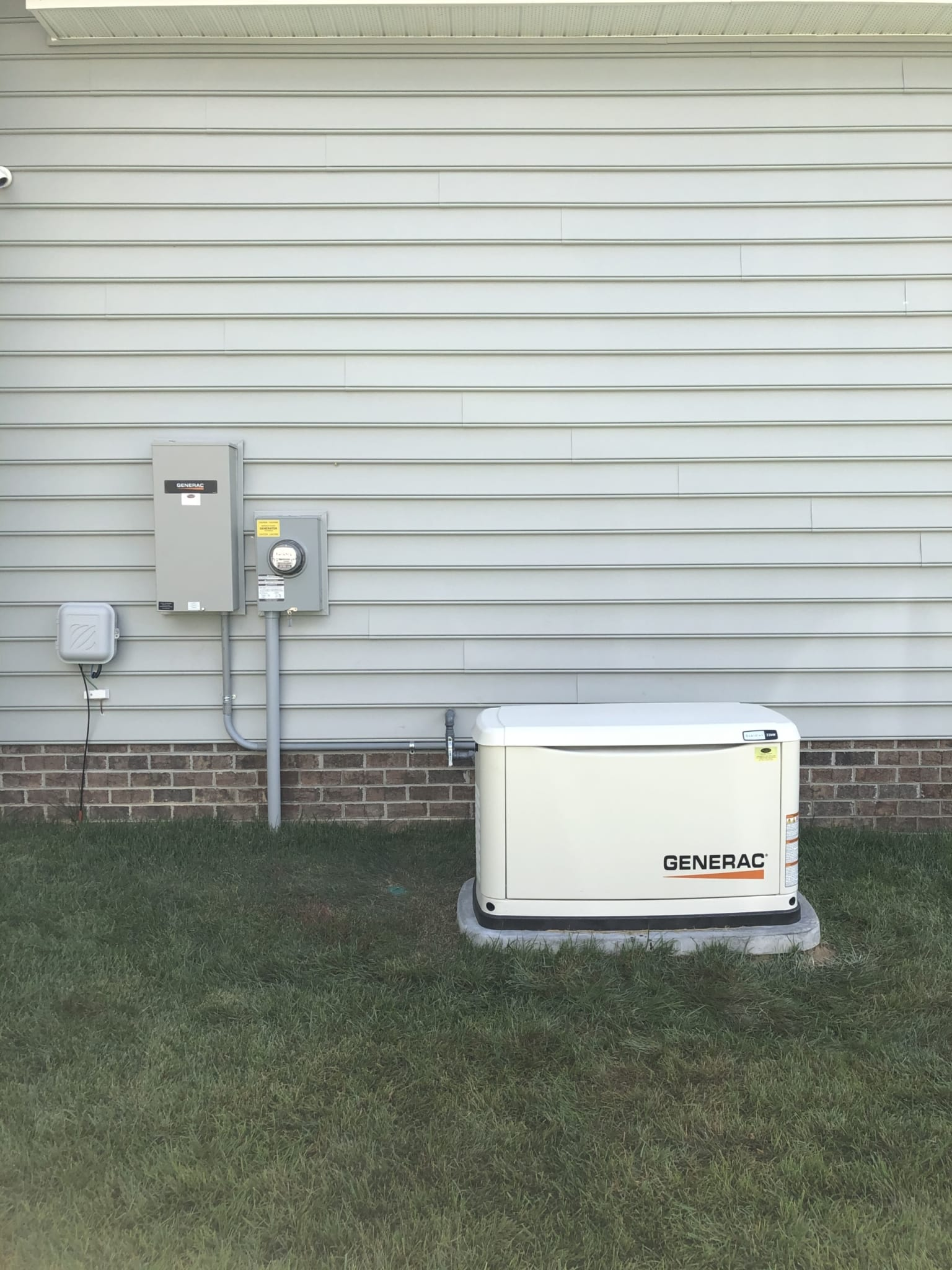 7.8.20 Generac Automatic Standby Generator System