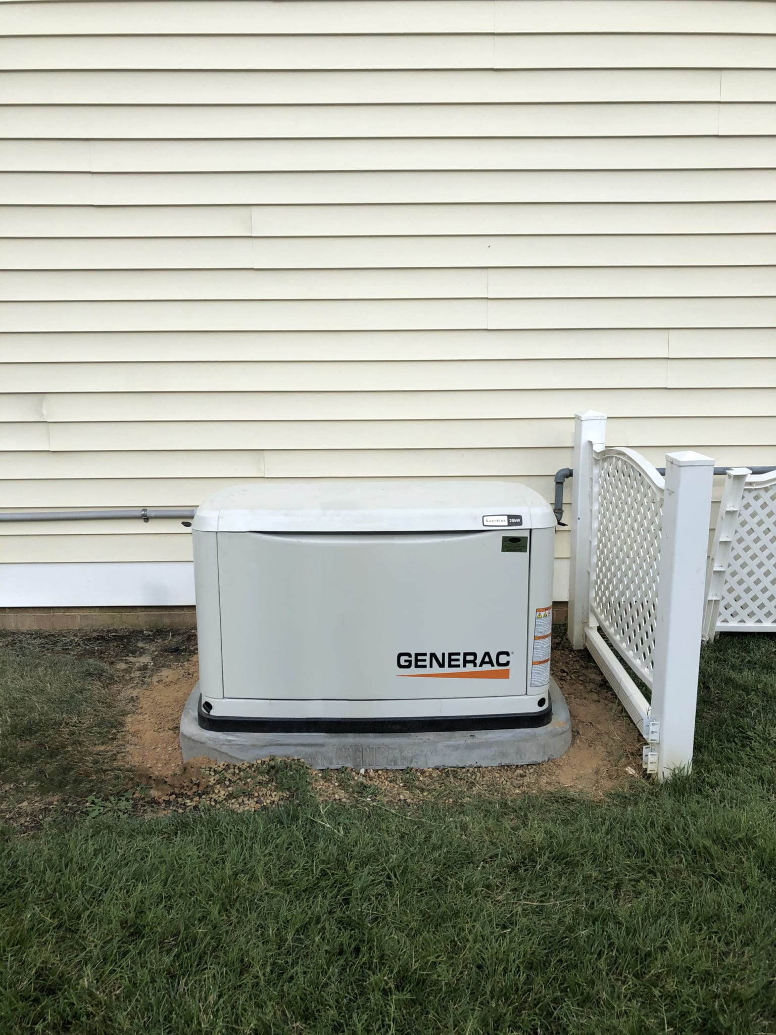 7.8.20 Hanover Generac Automatic Standby Generator
