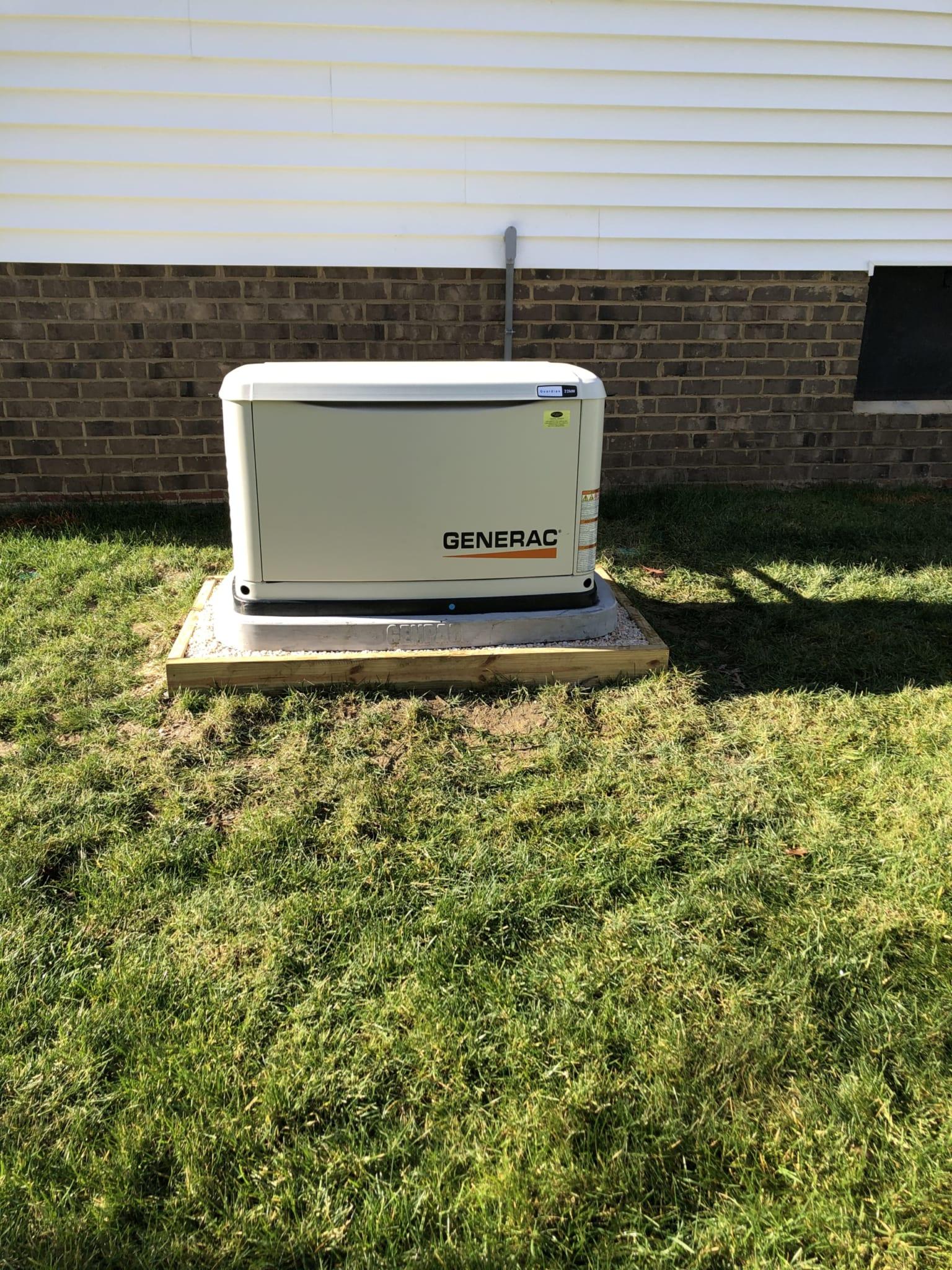 12.15.20 Chesterfield Generac Automatic Standby Generator