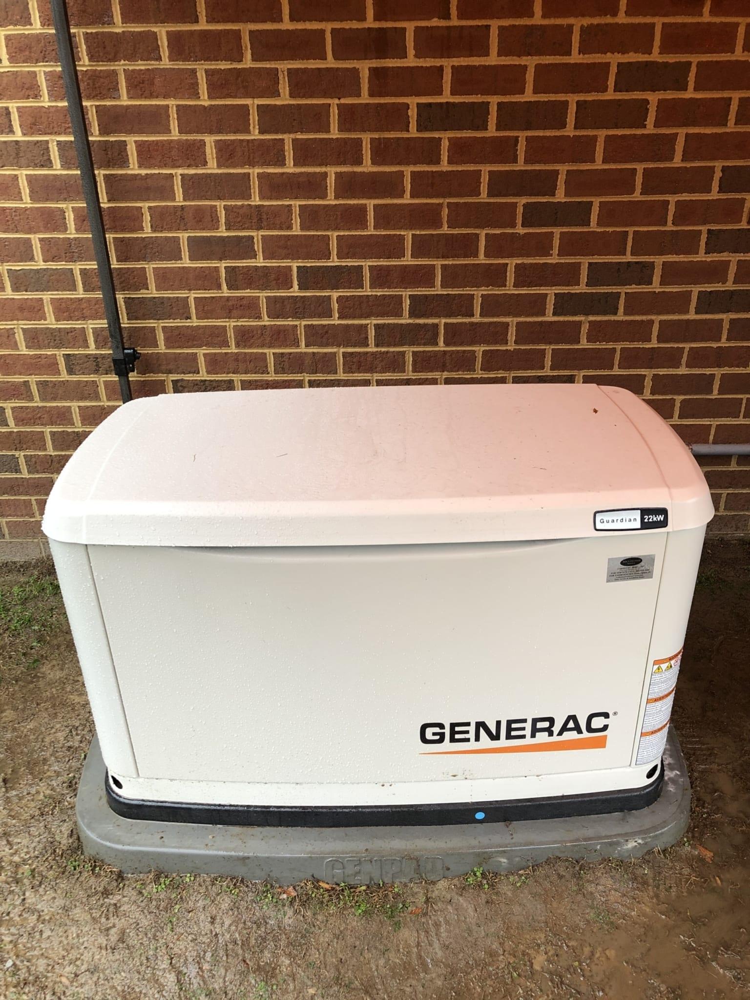12.16.20 Chesterfield Generac Automatic Standby Generator