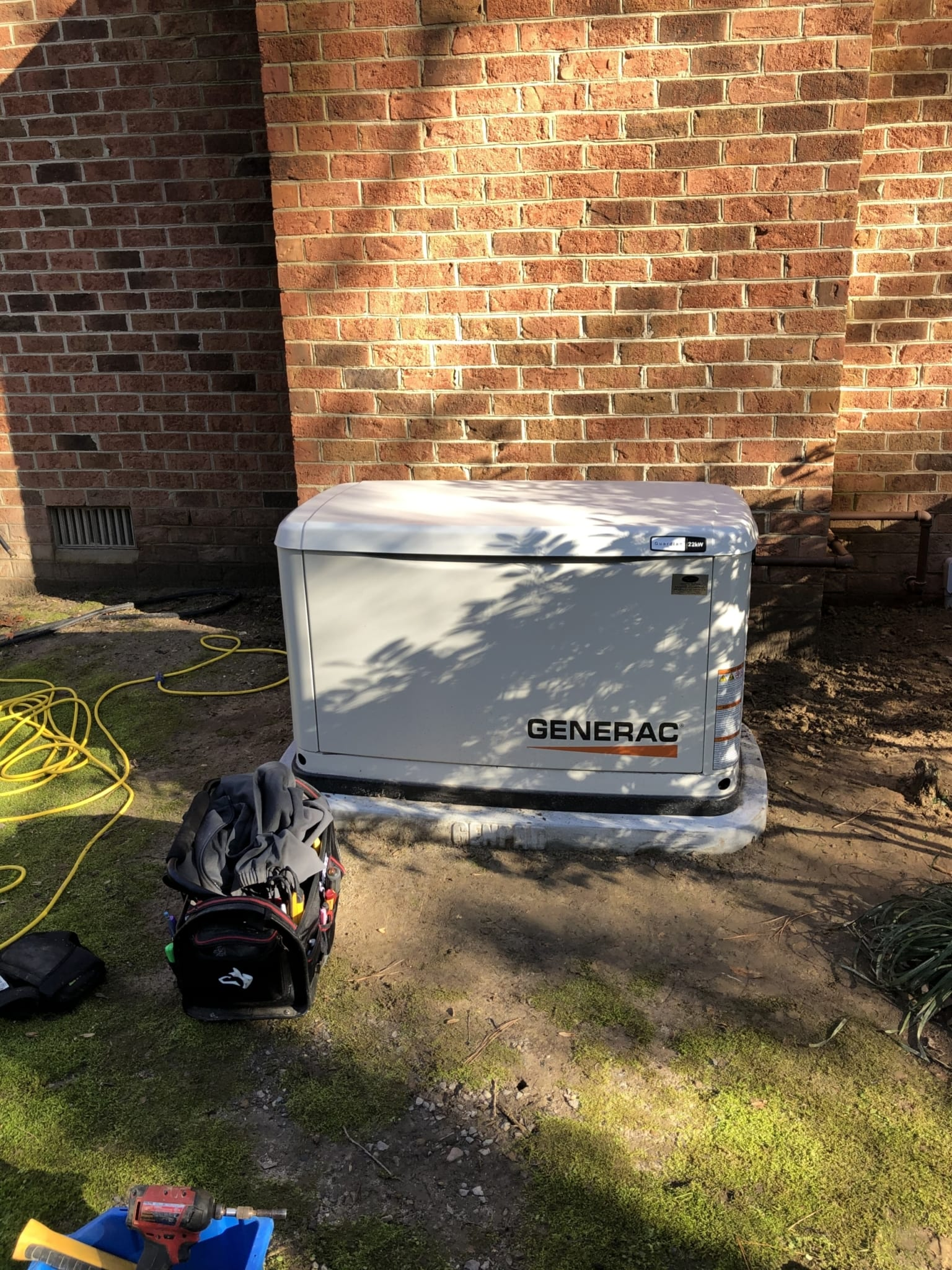 12.21.20 Chesterfield Generac Automatic Standby Generator