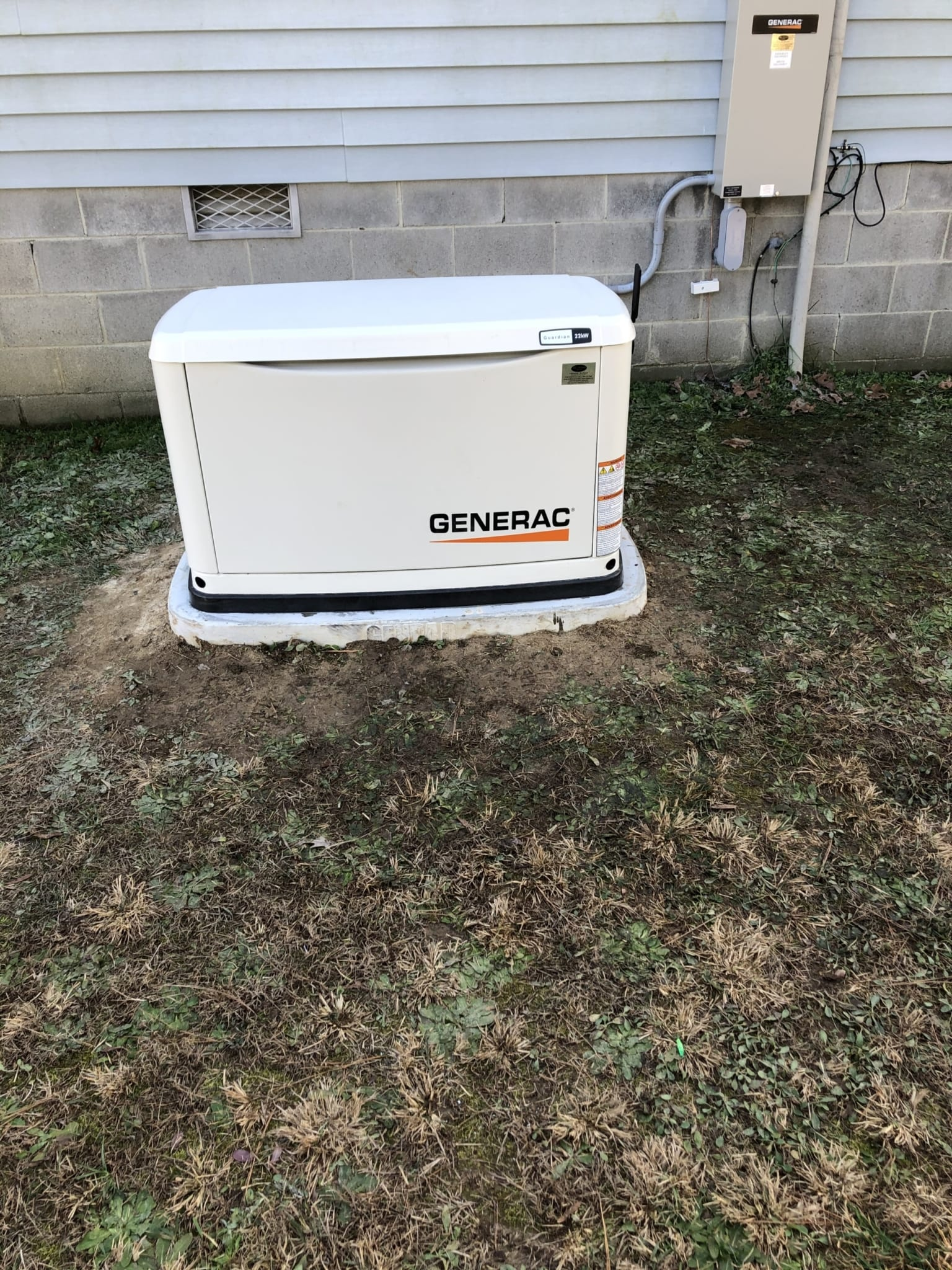 12.23.20 Prince George Generac Automatic Standby Generator