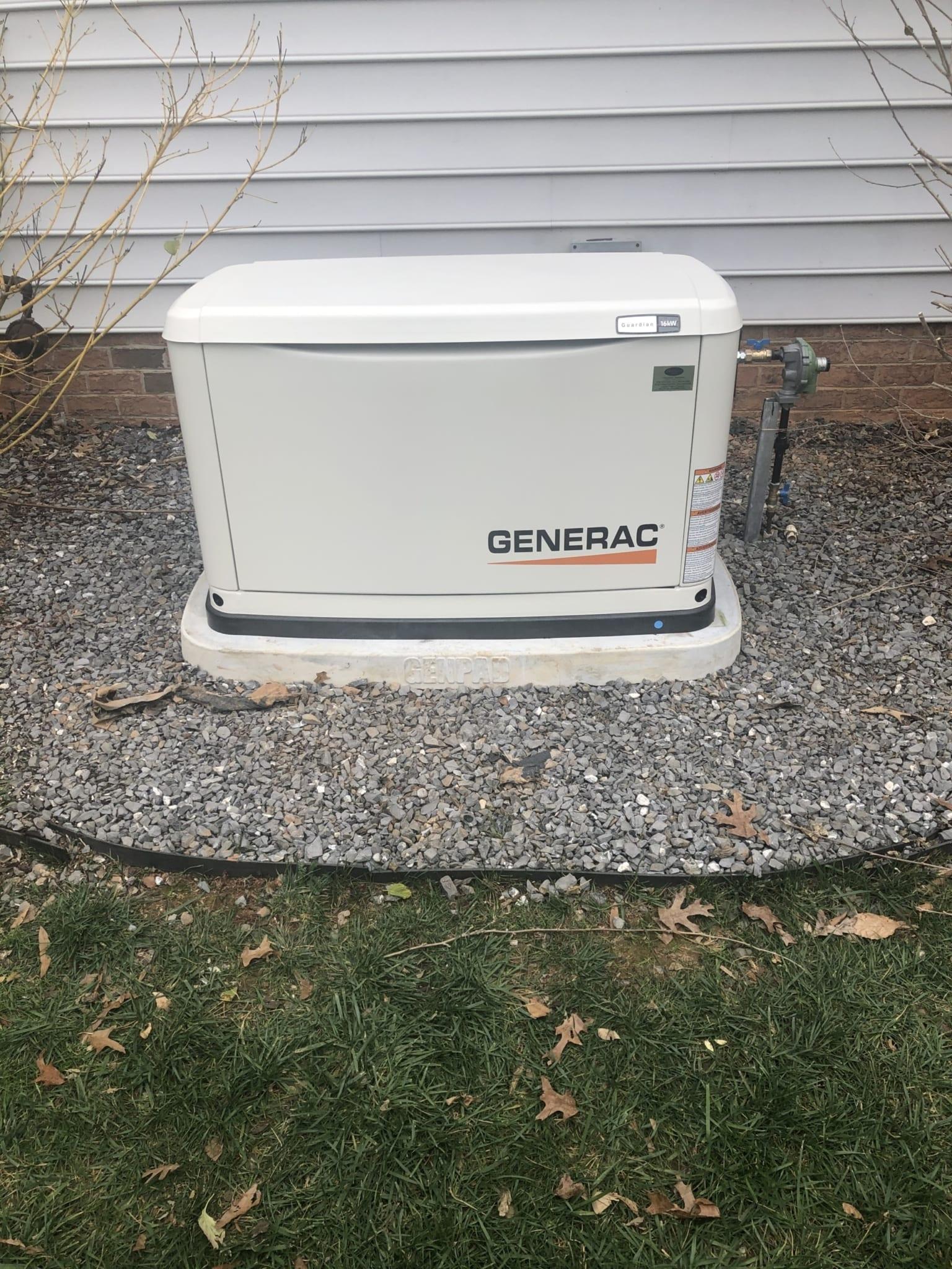 12.4.20 Powhatan Generac Automatic Standby Generator