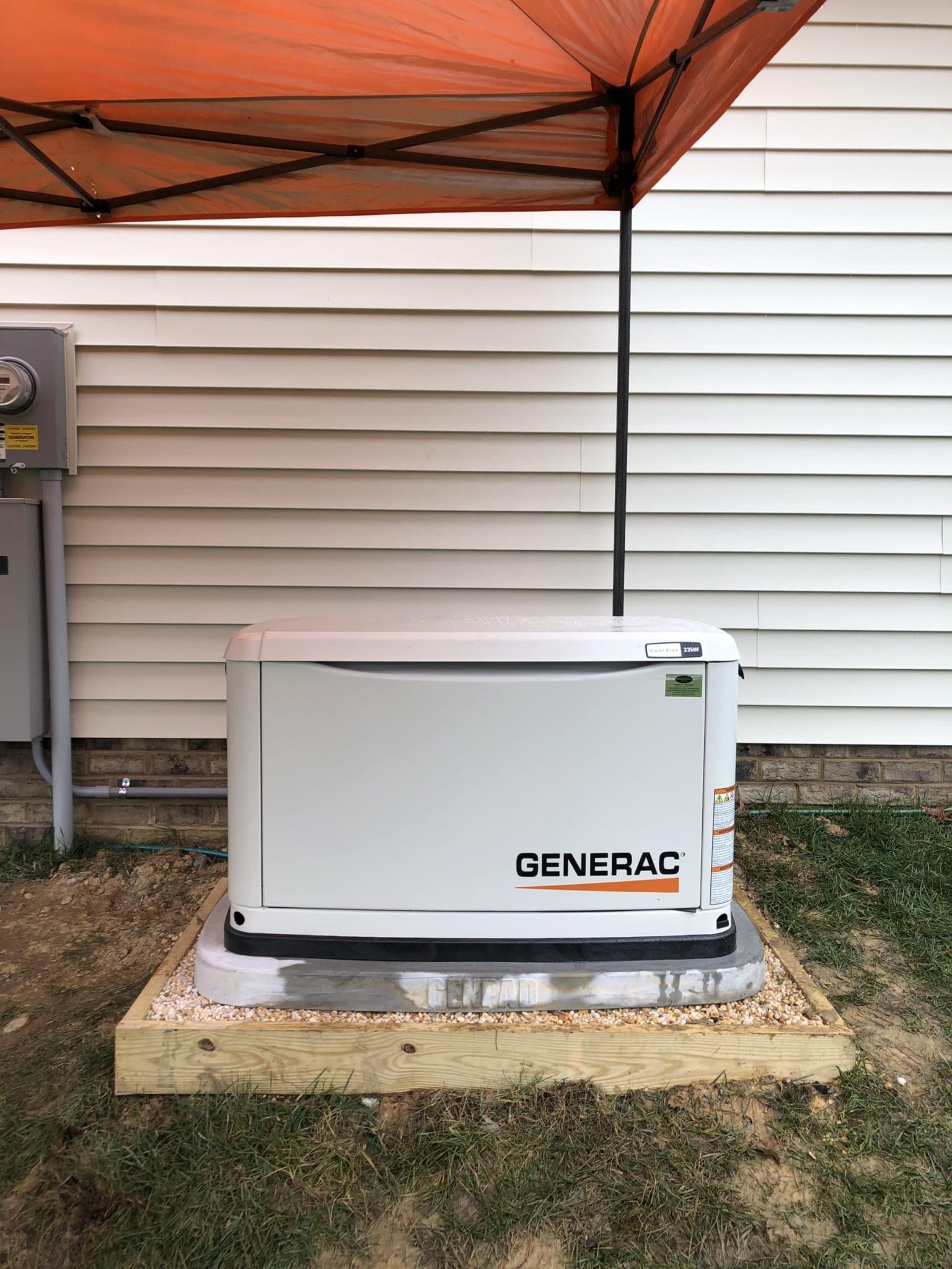 12.7.20 Chesterfield Generac Automatic Standby Generator
