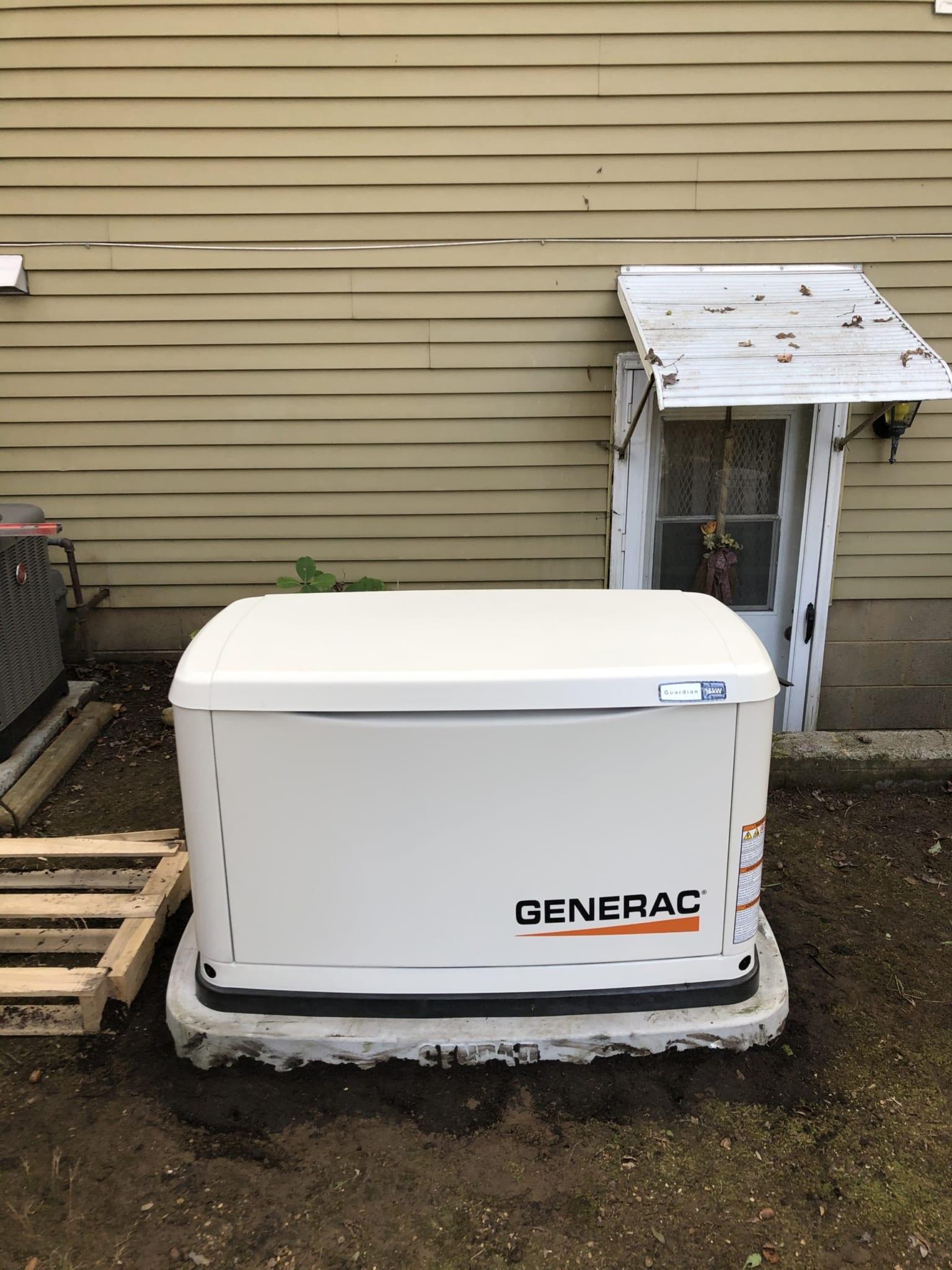 12.8.20 Richmond Generac Automatic Standby Generator