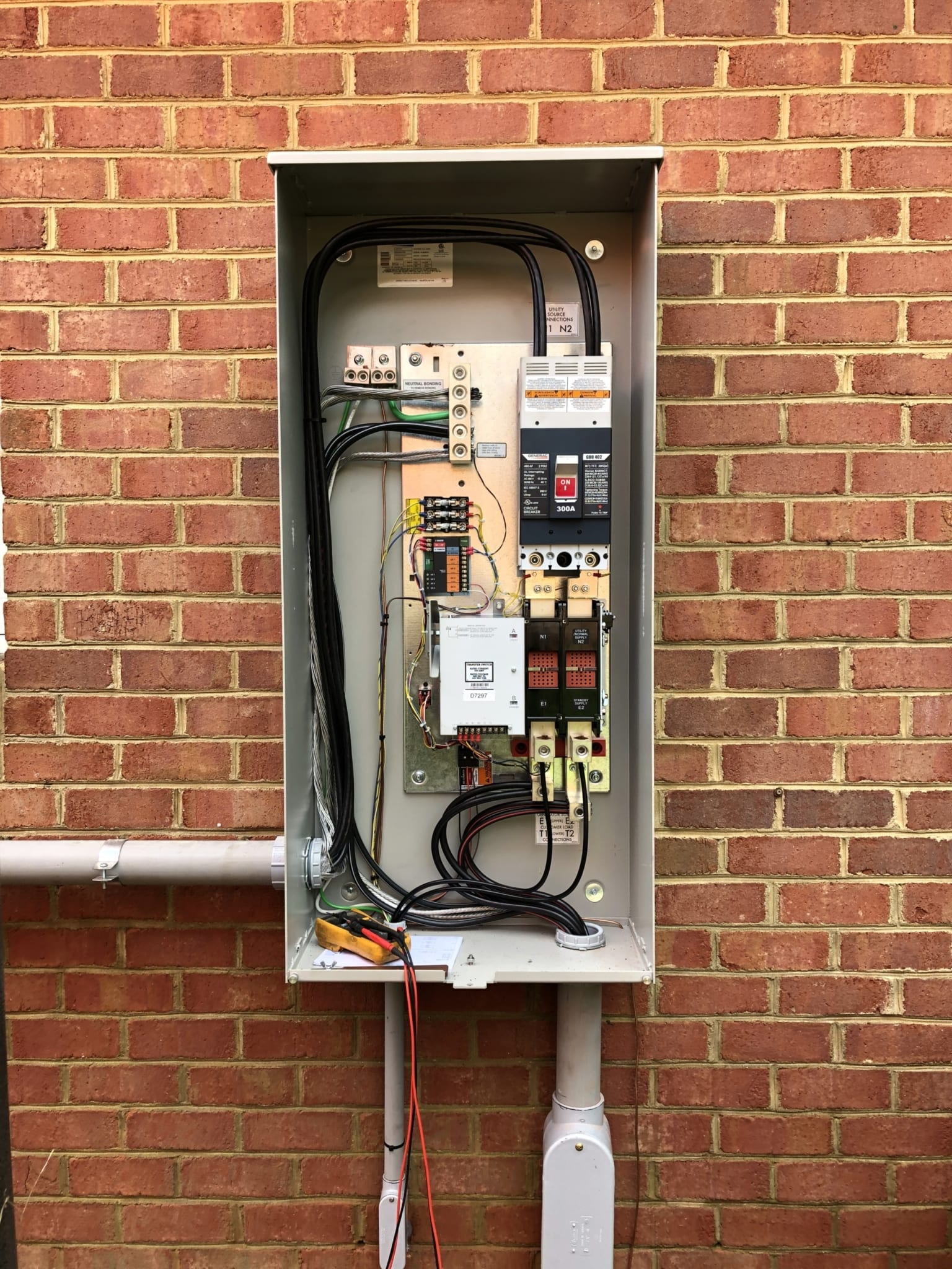 1.6.20 Chesterfield Generac Automatic Transfer Switch Open