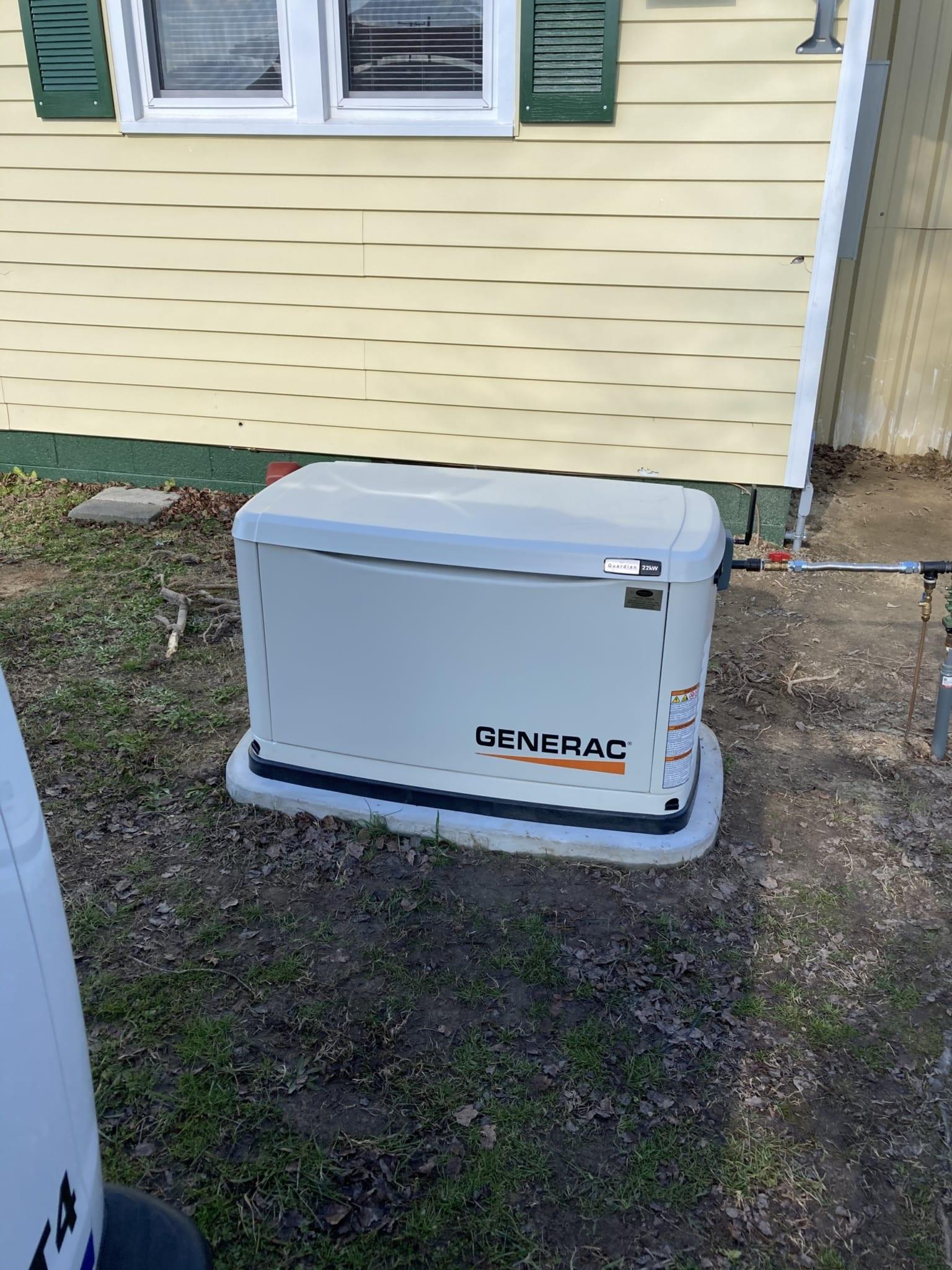 1.7.21 Lunenburg Generac Automatic Standby Generator