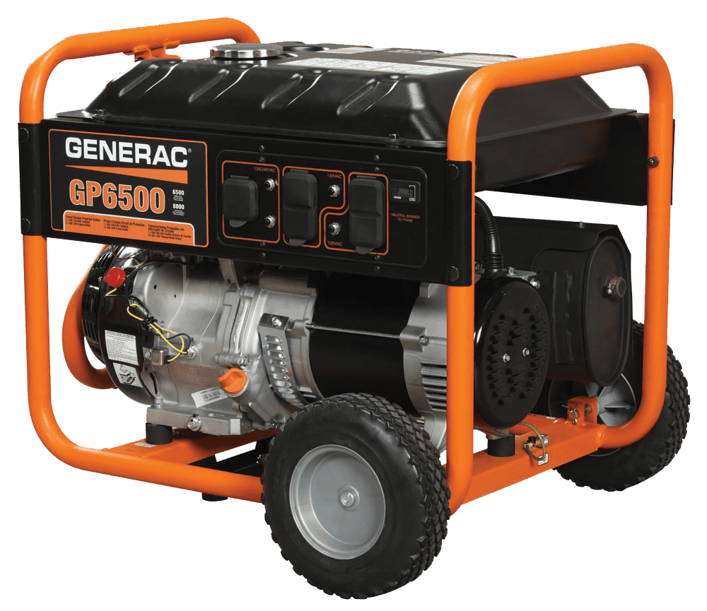 Generac GP 6500 Portable Generator