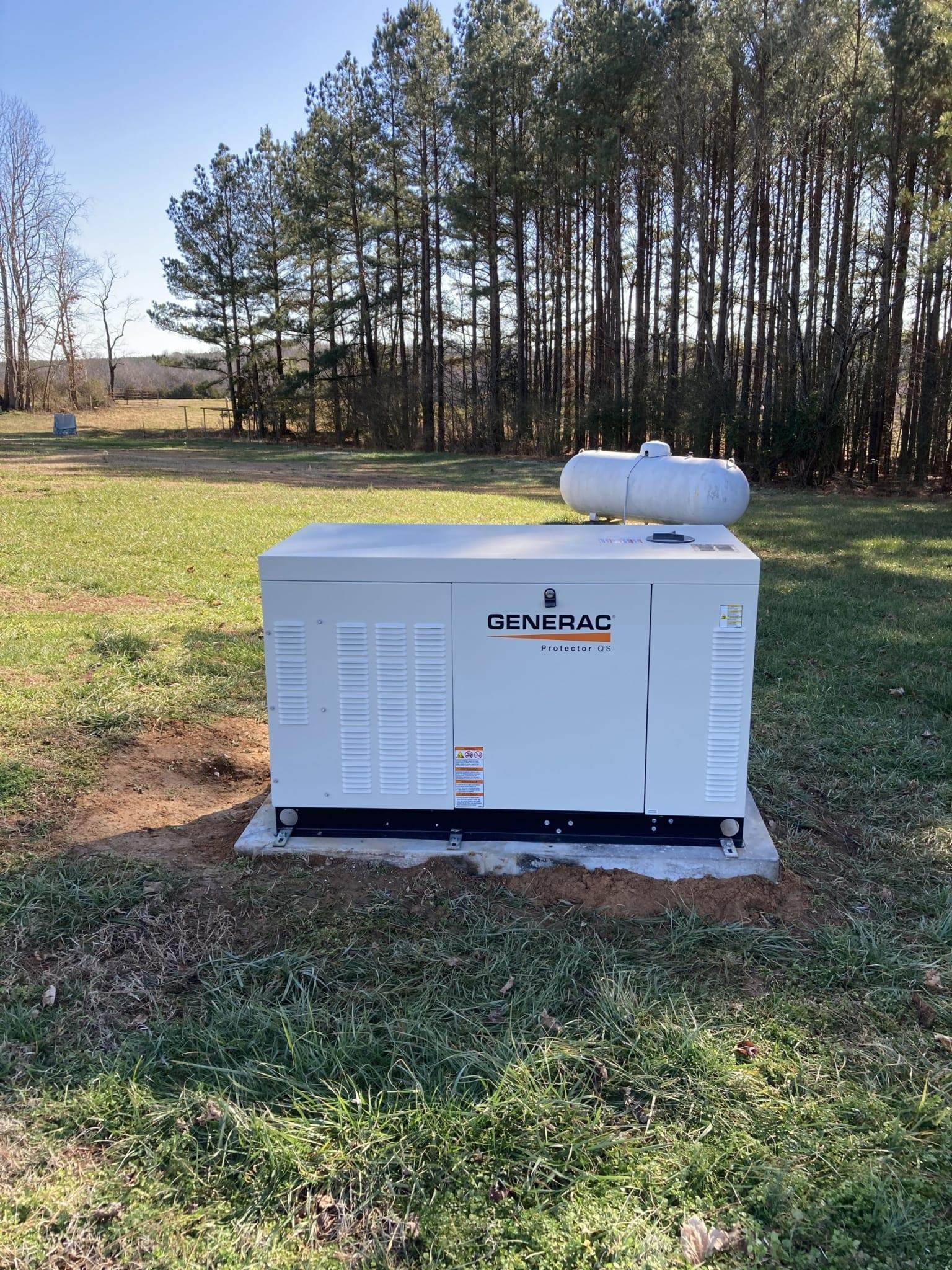 4.20.21 Nottoway Generac Automatic Standby Generator