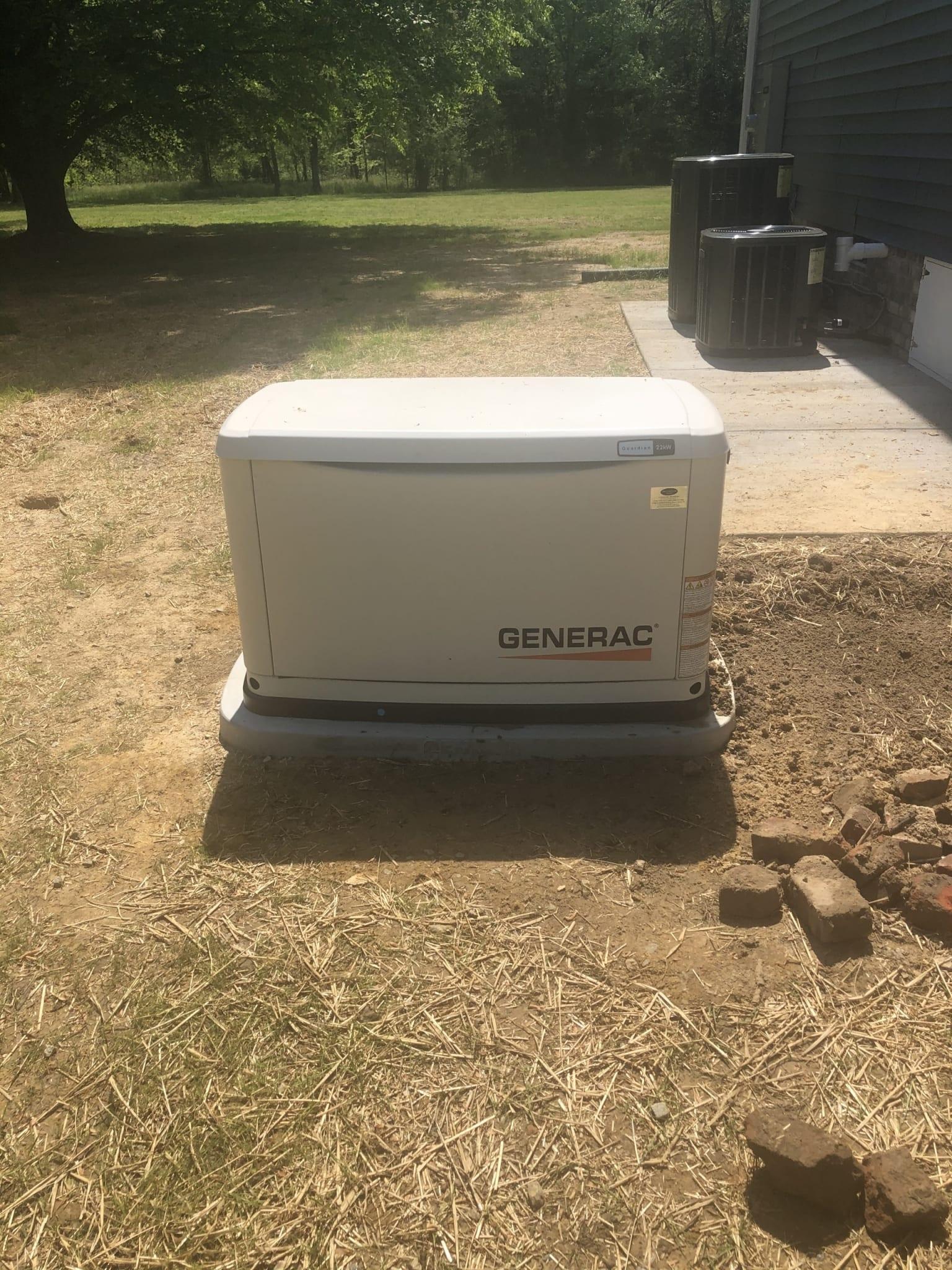 4.21.21 Prince George Generac Automatic Standby Generator