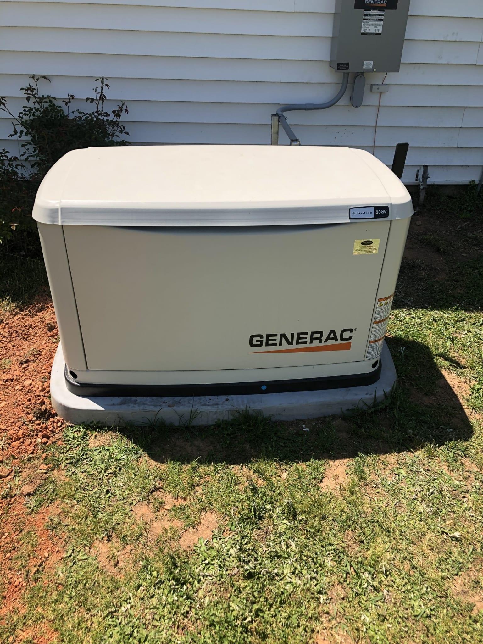 4.28.21 Dinwiddie Generac Automatic Standby Generator